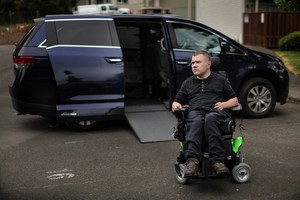 In May 2015, Joe VanderVeer spent several days testing Uber's wheelchair-accessible service. It took him more than 15 attempts and nine hours checking the app before he was able to successfully request a ride to the grocery store.