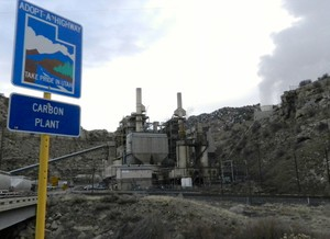 The coal-fired Carbon Plant was closed by Portland-based PacifiCorp.