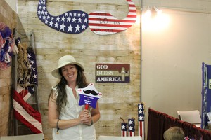 Lindsay Rausch is volunteering in the campaign to keep Boyd Britton in office.