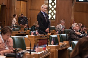 State Rep. Carl Wilson, R-Grants Pass, has advocated for land transfer legislation in Oregon.