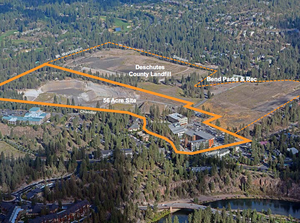 The Deschutes County board of commissioners has approved the sale of an old county landfill to Oregon State University-Cascades for $1.