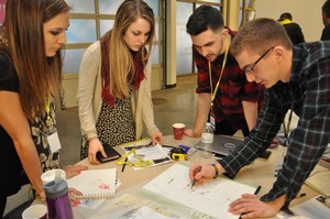 Students at the University of Oregon's Department of Sports Product Design.