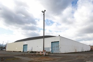 The city pegged the Terminal 1 warehouse in Northwest Portland as a potential site for a homeless shelter.