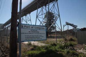 The Port of Longview is the state's third largest port, after Seattle and Tacoma.