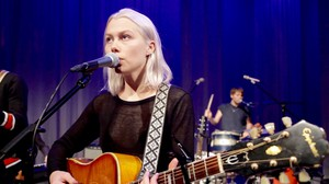 Phoebe Bridgers performs in the OPB studio