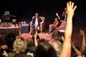 "Theater and social justice veteran Kevin Jones and actress Chantal DeGroat led a packed audience on a voyage from Jones' childhood in Jamaica, Queens to how Oregon's origins as a white utopia led to today's ""Keep Portland Weird."""