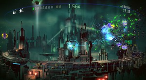 Resogun is a favorite during #Spawn4Good, for its playability and luscious color scheme.