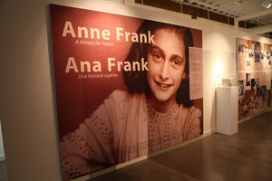 """""""Anne Frank: A History for Today"""" filled the Oregon Jewish Museum with record crowds in January 2015."""