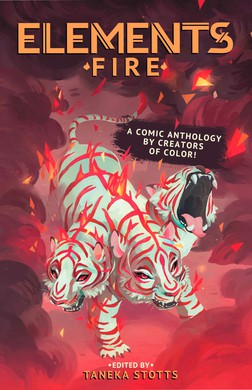 """Elements: Fire"" is the second anthology by Beyond Press."