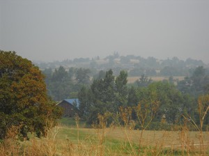 Smoke from wildfires burning across southern Oregon is making air quality hazardous, which is especially challenging for vulnerable populations.