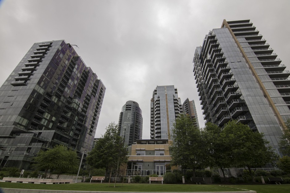 Portland's South Waterfront provides an example of how high-end housing construction has boomed since the days of the Great Recession.