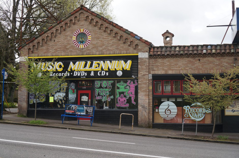 Portland record store Music Millennium has been in business for 50 years this month.