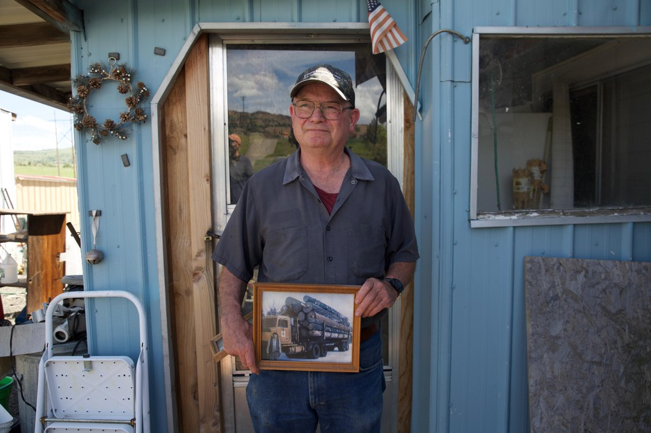 Otis Cody grew up in Kinzua, a logging company town in Wheeler County. Before it closed in 1978, it was the largest town and largest employer in the county.