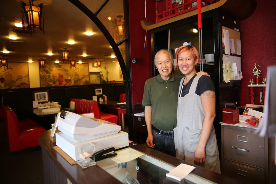 Cindy Louis became the third generation in her family to own and operate the Canton Grill, after she took the restaurant over from her father, Fred Louis. The restaurant is celebrating its 75th anniversary in August.