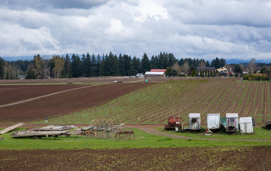 Liepold Farms in Boring, Ore., on Friday, April 3, 2020.