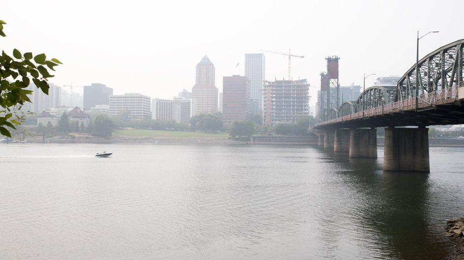 Health officials advise people to avoid the outdoors during unhealthy smoke conditions.