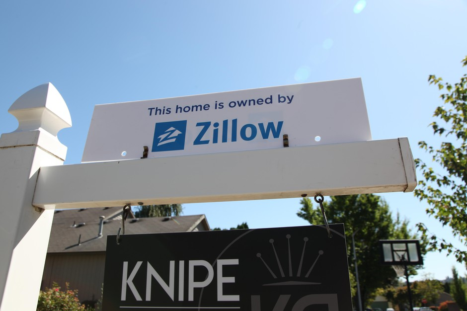 Beaverton, Ore., August 27, 2019. This was one of the first homes in the Portland area that Zillowpurchased as part of its new business buying and selling houses directly.