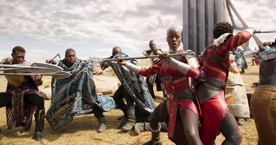 """Costumes by Ruth E. Carter for Marvel's 2018 film """"Black Panther."""""""
