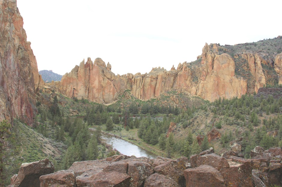 From 2011 to 2016, visitation at Smith Rock State Park increased from 450,000 to about 700,000 day use visitors annually.