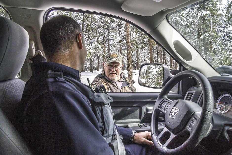 Oregon State Police Trooper Finds His Dream Job Keeping Hunting Fair