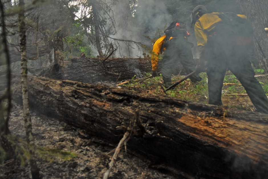 Crews mopping up Incident 94 (file photo).