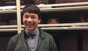 Sven Haakanson, the curator of North American Anthropology at the Burke Museum, says he wants exhibits at the new museum to speak to the resiliency of North America's Native people.