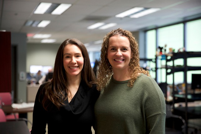 Rosanne Scott and Kelly Paluso are child welfare caseworkers at the the Oregon Department of Human Services.