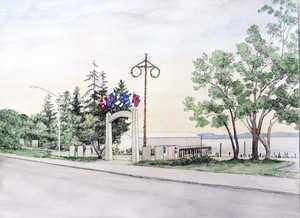 A Scandinavian monument is planned for Peoples Park in downtown Astoria.