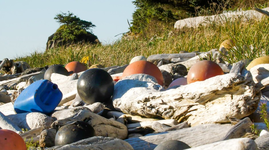 Derelict floats and other fisher gear make up some of the most visible marine debris dotting Pacific Northwest shorelines.
